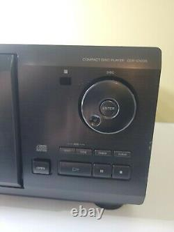 Sony CDP-CX225 CD Changer 200 Compact Disc Player HiFi Stereo Optical Works