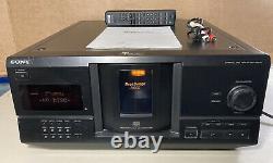 Sony CDP-CX230 Mega Storage Carousel 200 Disc CD Changer Player + Remote +Manual