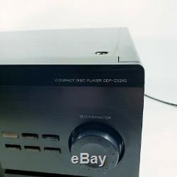 Sony CDP-CX240 200 Disc CD Changer Player Excellent Condition