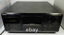 Sony CDP-CX255 200 Disc CD Player MEGA Changer Stereo Home Audio Works Tested