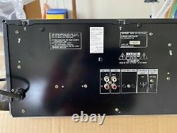 Sony CDP-CX300 300 Disc CD Changer CD Player REPLACED Belts, Remote and Manual