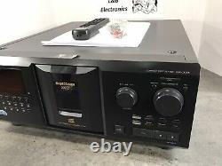 Sony CDP-CX355 300 CD Compact Disc Changer/Player WithRemote, Cables Serviced