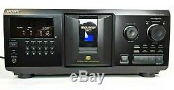 Sony CDP-CX355 300 CD Mega Storage Compact Disc Changer Carousel Jukebox Player