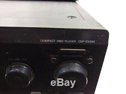 Sony CDP-CX355 300 CD Mega Storage Compact Disc Changer Carousel Jukebox Player