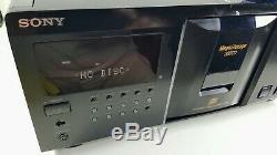 Sony CDP-CX355 300 CD Mega Storage Compact Disc Changer Jukebx Player Serviced