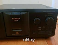 Sony CDP-CX355 300 Disc CD Player Changer TESTED WORKING BELTS GOOD GREAT