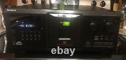 Sony CDP-CX355 CD Changer-300 Disc Player Bundle with Remote And New Belts