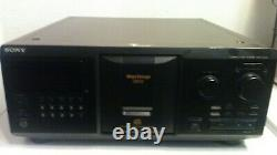 Sony CDP-CX355 CD Changer-300 Disc Player New Belts Works Great
