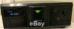 Sony CDP-CX355 CD Changer-300 Disc Player with Remote and Instructions