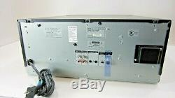 Sony CDP-CX355 MEGA Storage 300 Disc CD Player CD Changer withBox, Remote