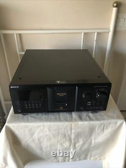 Sony CDP-CX355 Mega Storage 300 CD Compact Disc Changer Player Tested & Working