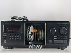 Sony CDP-CX355 Mega Storage 300 CD. Compact disc player/changer. WORKS GREAT
