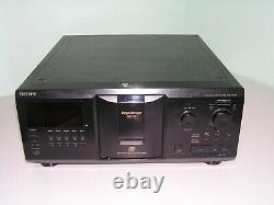 Sony CDP-CX355 Mega Storage 300 Disc CD Changer Player no remote