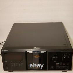 Sony CDP-CX355 Mega Storage Compact Disc 300 CD Changer Player New Belts