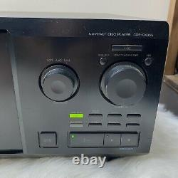 Sony CDP-CX355 Mega Storage Compact Disc 300 CD Changer Player No Remote WORKS