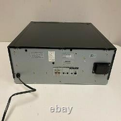 Sony CDP-CX355 Mega Storage Compact Disc 300 CD Changer Player Tested NO REMOTE