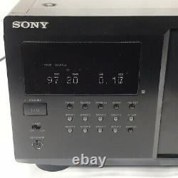 Sony CDP-CX355 Mega Storage Compact Disc 300 CD Changer Player with Remote TESTED