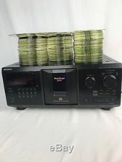 Sony CDP-CX355 MegaStorage Digital CD Player/300-Disc Changer Plus 235 CDs