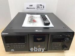 Sony CDP-CX400 400 CD Compact Disc Changer/Player WithRemote, Cables- Fresh Belts