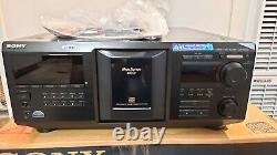 Sony CDP-CX400 400-disc CD changer/ player Open Box with original accessories