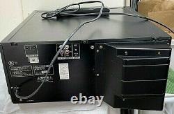 Sony CDP-CX400 CD Changer 400 CD Compact Disc Player With Remote, Tested