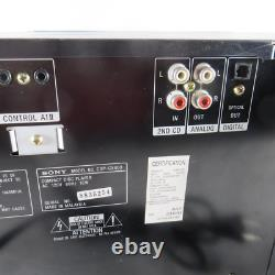 Sony CDP-CX400 Mega Storage 400 CD Compact Disc Player Carousel Changer