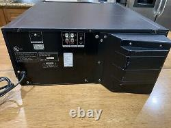 Sony CDP-CX400 Mega Storage Compact Disc 400 CD Changer Player Tested Works