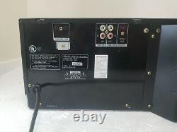 Sony CDP-CX400 MegaStorage 400-Disc CD Changer Player Tested New Belts