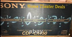 Sony CDP-CX450 400-disc CD changer/ player New in Retail box