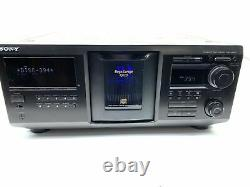 Sony CDP-CX455 400 Disc CD Changer Player CLEAN & TESTED EXCELLENT CONDITION