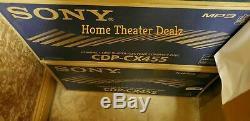 Sony CDP-CX455 400-disc CD changer/ player Brand-New Retail Box