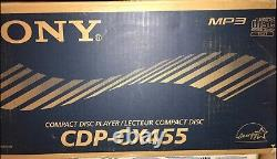 Sony CDP-CX455 400-disc CD changer/ player New in Retail box
