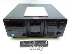 Sony CDP-CX455 MegaStorage 400-CD Changer Compact Disc Player