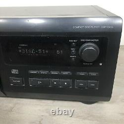 Sony CDP-CX55 Compact Disc Player 50+1 CD Changer WithRemote Tested
