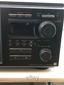 Sony CDP-M333ES 400 Disc Mega Compact Disc Changer Cd Player Jukebox