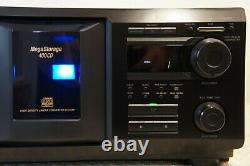 Sony Cdp-cx455 Compact Disc Player/changer With Remote New Belts