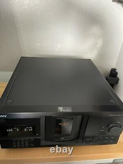 Sony Compact Disc Player CDP-CX235 Mega Storage 200 CD Changer No Remote Tested