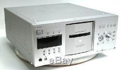 Sony DVP-CX777ES 400 Disc Explorer DVD/CD Player Changer Carousel Jukebox SILVER