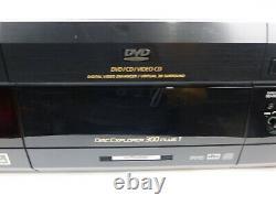 Sony DVP-CX870D 301 Disc DVD CD Video Changer Mega Carousel Player