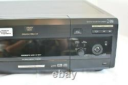 Sony DVP-CX875P 300+1 Disc Changer DVD/CD Player No Remote Tested And Works