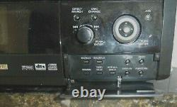 Sony DVP-CX875P 300+1 Disc Changer DVD/CD Player Tested Without remote