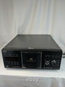 Sony DVP-CX985V 400-Disc Explorer CD/DVD/SACD Changer Player! No Remote