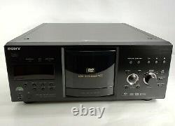Sony DVP-CX985V 400-Disc Explorer CD / DVD / SACD Changer Player No Remote