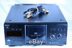 Sony DVP-CX985V 400 Disc Explorer CD/DVD/SACD Player Mega Changer
