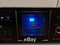 Sony DVP-CX985V 400 Disc Explorer CD/DVD/SACD Player Mega Changer No Remote