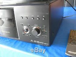 Sony DVP-CX985V 400 Disc Explorer CD/DVD/SACD Player Mega Changer Remote Tested
