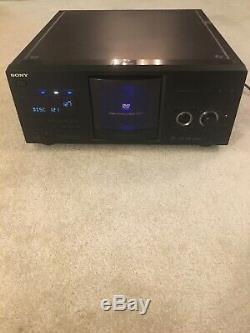 Sony DVP-CX985V 400 Disc Explorer CD/DVD/SACD Player Mega Changer TESTED WORKING