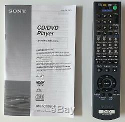 Sony DVP-CX985V 400 Disc Explorer DVD-CD-SACD Mega Changer Player