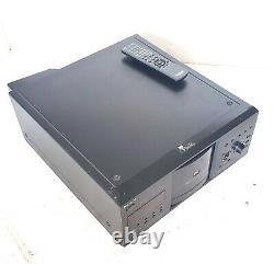 Sony DVP-CX985V CD/DVD 400 Disc Player Mega Changer Disc Explorer with Remote