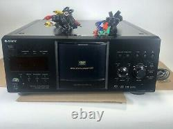 Sony DVP-CX985V CD/DVD Player/Changer Remote 400 Discs Super Audio CD Library